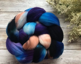 Entwined Targhee Combed Top Spinning Fiber