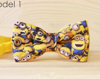 Minions bow tie - bowtie