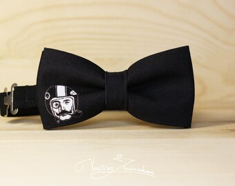 Distinguished gentlemens Ride logo Individual bow tie