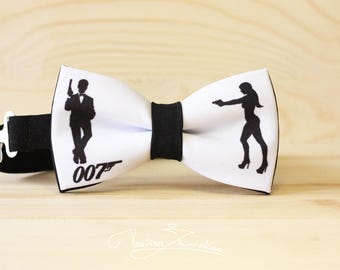 James Bond Bow tie - Bowtie
