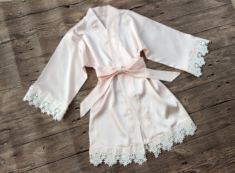 368c4427d Sale Baby Robe-Flower Girl Robe-Floral Robe-flower Girl   Etsy