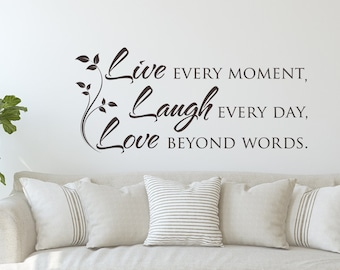 Bedroom Wall Quotes Etsy