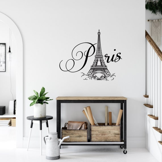 Paris Market Vinyl Decal Wall Sticker Words Lettering Kitchen Decor