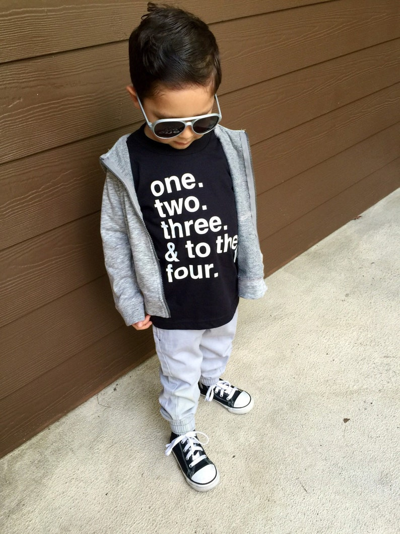 e3ebc5be5 Hip Hop Baby Clothes Hip Hop Toddler Shirt Graphic T-Shirt