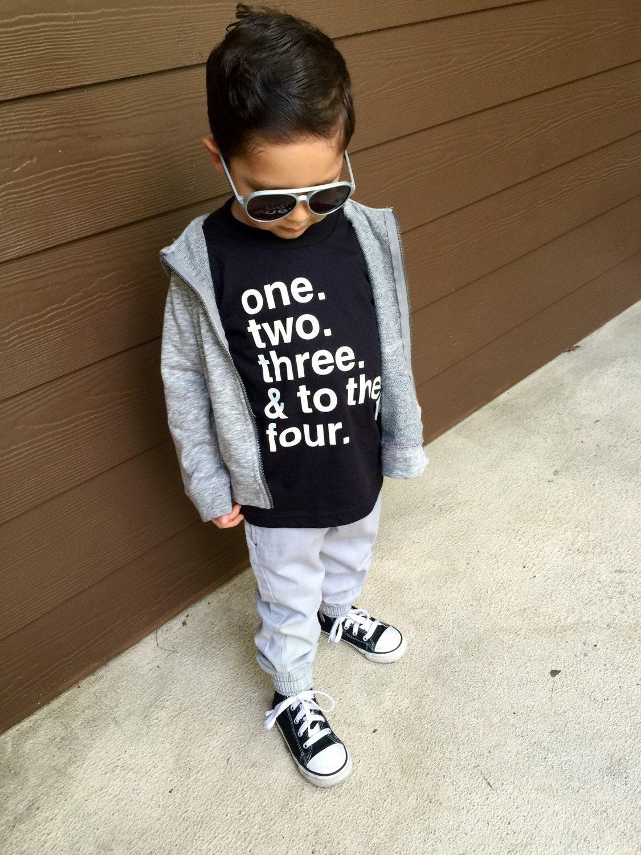 Hip Hop Baby Clothes Hip Hop Toddler Shirt Graphic T-Shirt ...