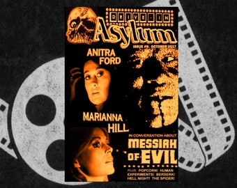 DRIVE-IN ASYLUM Issue #9 - October 2017