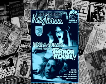 Drive-In Asylum, Issue #8, July 2017