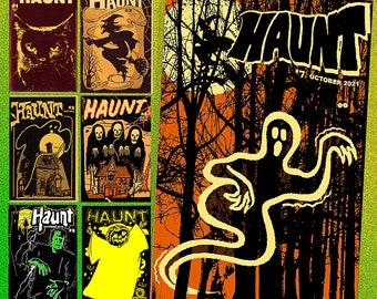 HAUNT - value pack - complete set, all seven issues! - Halloween fanzine
