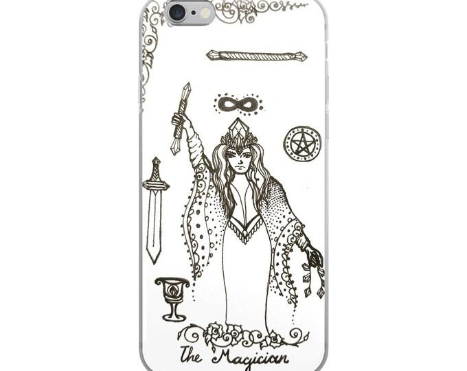 The Magician Art iPhone Case | Tarot Card inspired artwork Phone Case