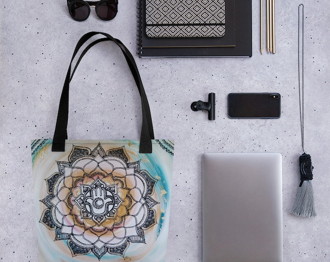 Luna Anastasia Mandala Tote bag * Artwork Print