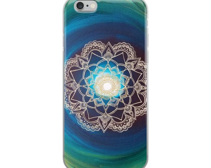 Portal Mandala iPhone Case | Reiki Energy Artwork | Freehand Painting Print | Intuitive Artist