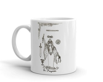The Magician Powerful Manifestor Mug * Tarot Card Coffee Cup