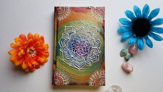 """Chakra Light Intention Mandala Sketchbook 