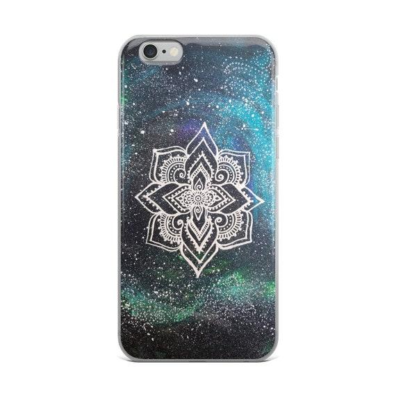 Galaxy Mandala iPhone Case * Intuitive Intention Mandala Art Print