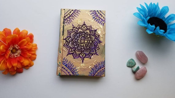 """Gratitude & Success Intention Mandala Sketchbook 