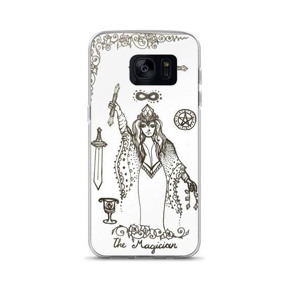 The Magician Art Samsung Case | Tarot Card Inspired Artwork Phone Case