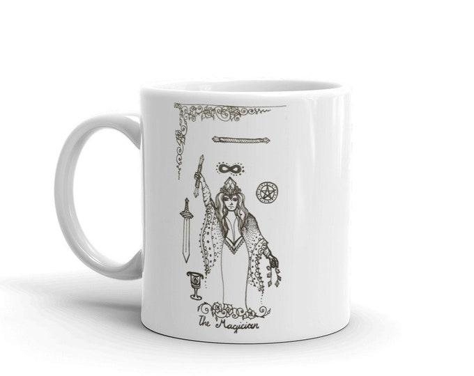 The Magician Powerful Manifestor Mug * Tarot Card Coffee Cup