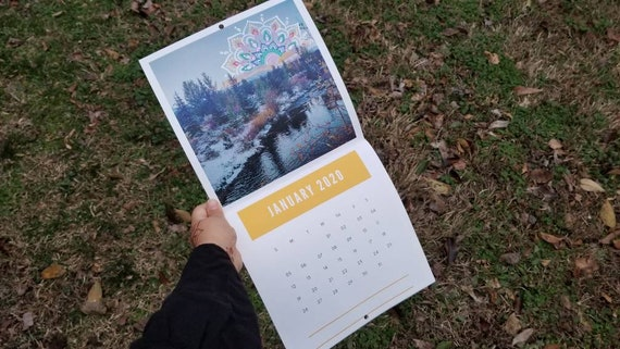 2020 Scenic Photography & Mandala Art Breckenridge, CO Calendar | Magic Mountain Artwork