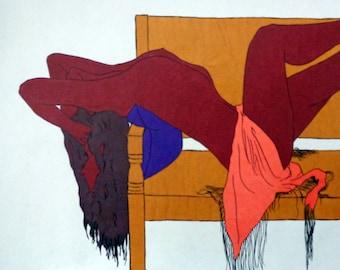 Marker, Pointillism- Self Portrait Series