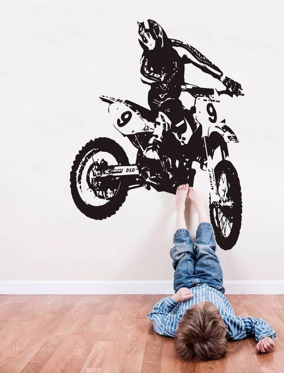 Dirt Bike Stickers Muraux Sticker Mural De Motocross Motorsport