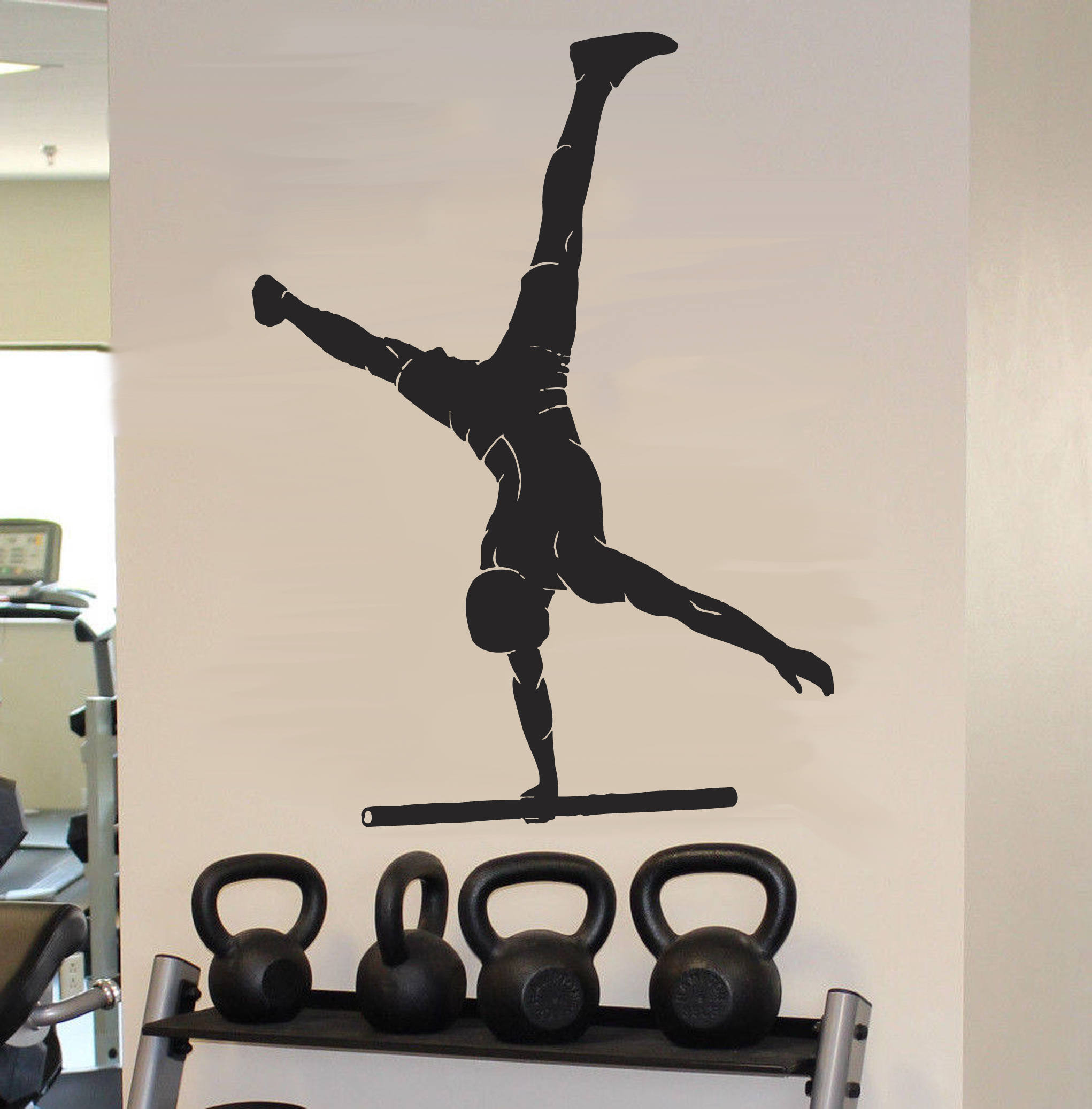 Street workout wall decal athlete performance wall sticker etsy