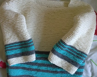 Child sweater with stripes age 3-4 years