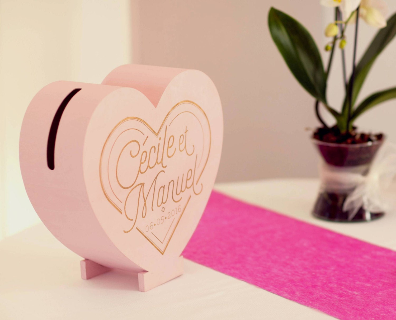 Card wedding box large heart box card box wedding money urn