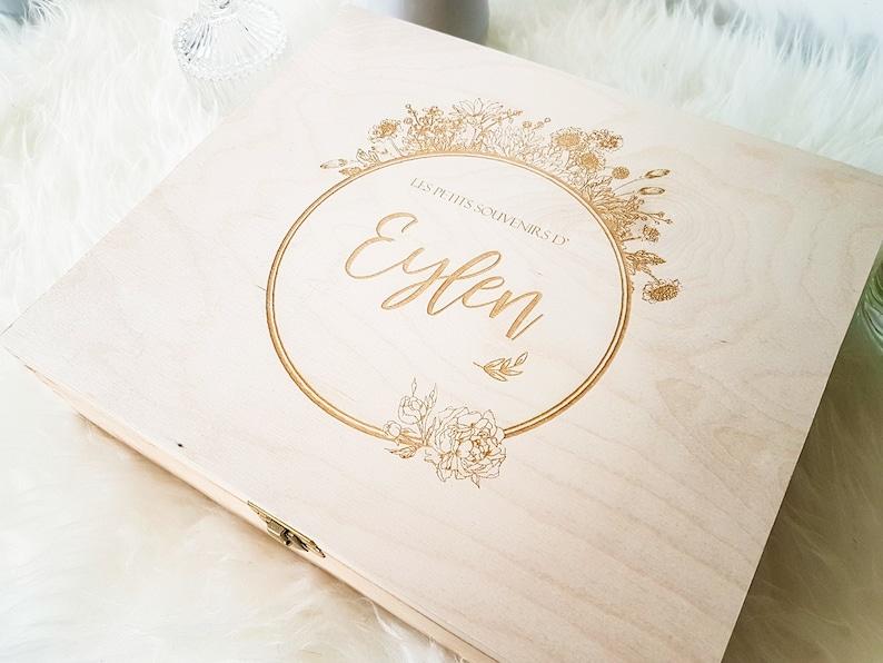 Boîte souvenir de bébé-chambre bebe-première dent - Créateur ETSY : Atelier58E