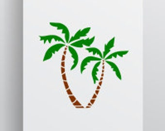 Palm Tree Svg; Cut File; Palm Tree; Palm Tree Cut File; Silhouette; Cameo; Cricut; SVG; DXF; PNG