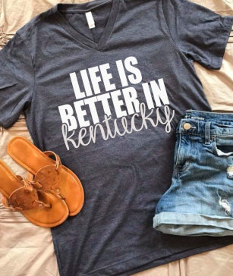 Life is better in Kentucky SVG PNG DXF Digital Download image 0