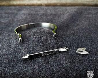 ef6d40574cf1 Stainless steel wire mesh belt bracelet