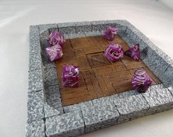 Gaming Dice Tray - Castle Cellar