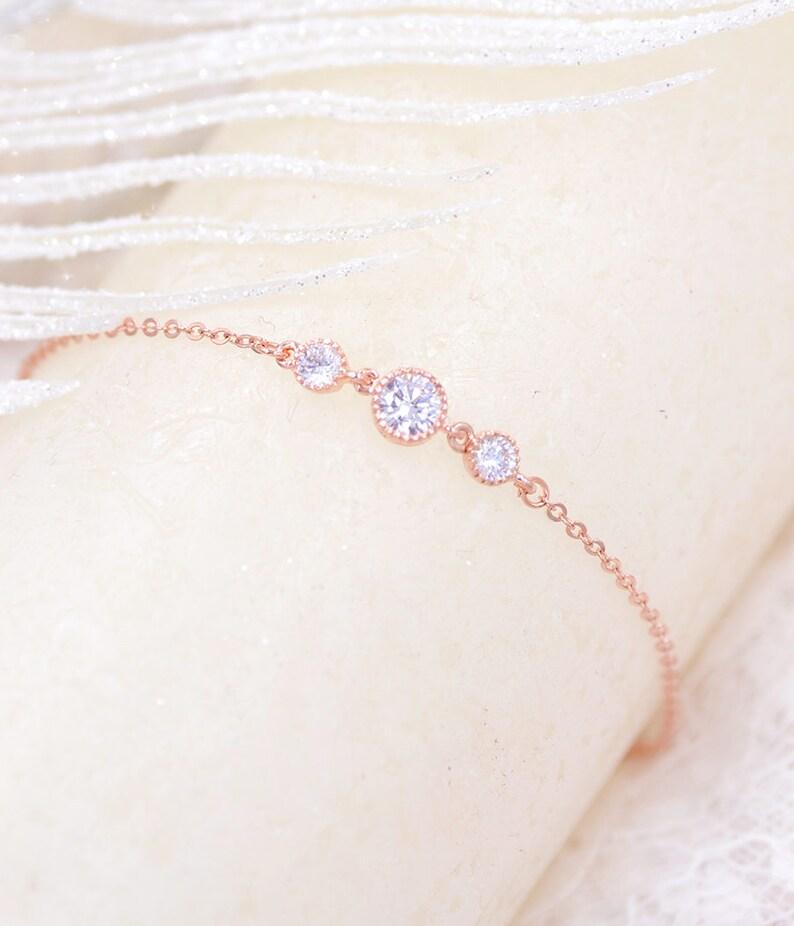 Bridal bracelet Cz cubic Silver Bracelet bridal Circle Bracelet Wedding accessories Bridal jewelry Bridal silver Cz  Bracelet Bijoux