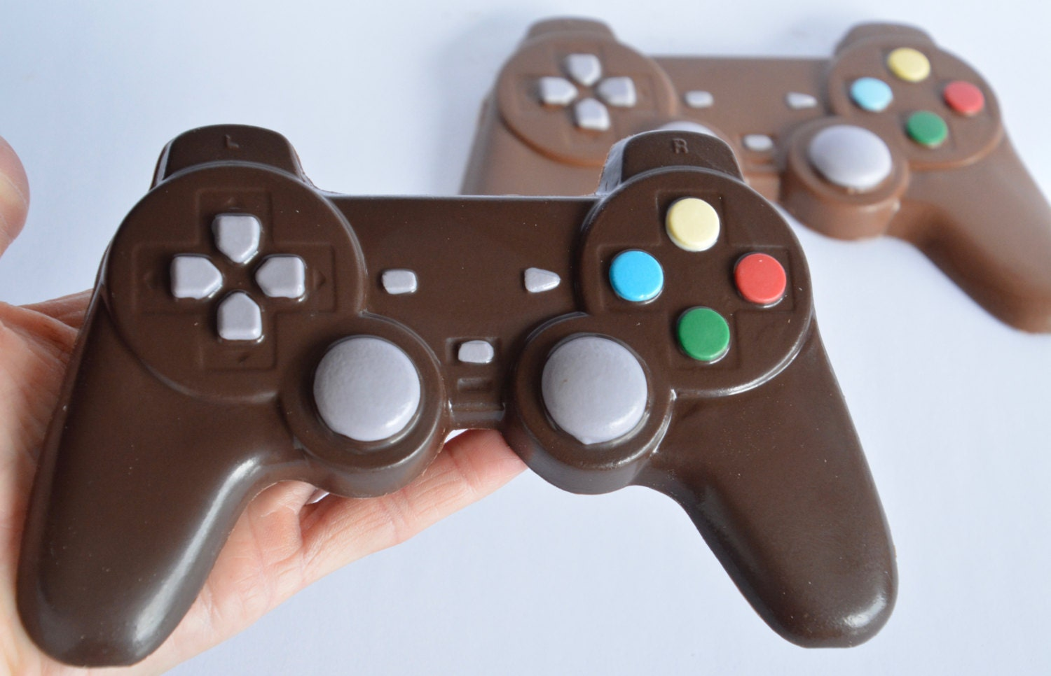 Ps4 Playstation Chocolate Video Game Controller Chocolate Etsy
