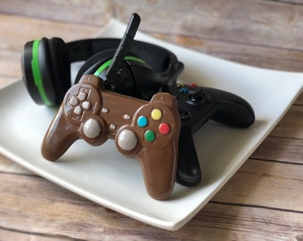 Chocolate Video Game Controller , Chocolate Playstation Controller, Chocolate Game Controller, Chocolate Video, Gamer Gift, Wedding Favor