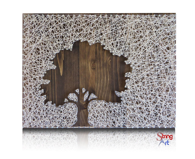 Oak Tree String Art Kit DIY