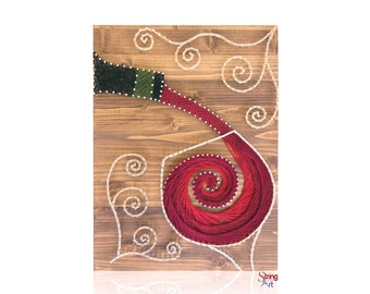 DIY String Art Kit - Wine String Art, Crafts Kit, Adult Crafts, Wine Lover, Mother's Day Gift, Gift for Mom, Wine Gift, DIY Kit
