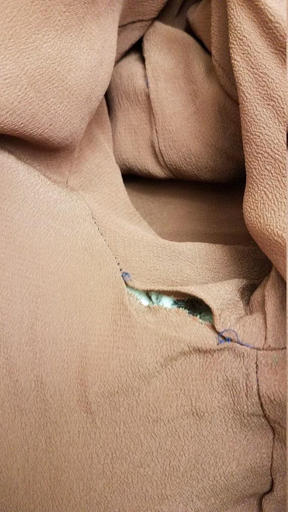 1950s Heavy Houndstooth Coat Retro Jacket Outerwe… - image 7
