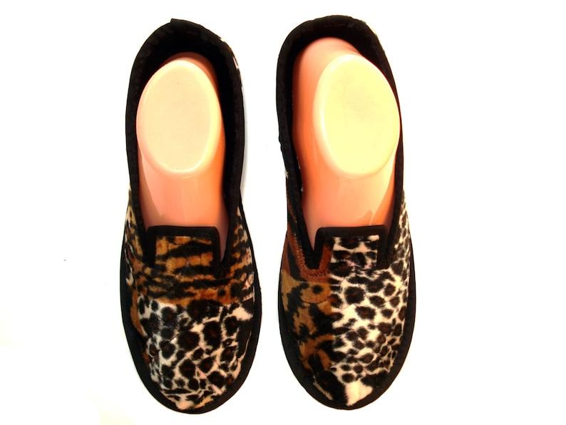 b0921833ea8 Tiger Velvet House Slippers Womens Slippers Soft Sole Shoes