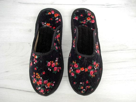 Velvet House Slippers for Women Wool