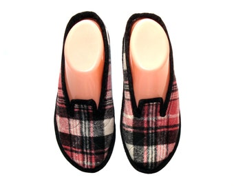 Womens Wool Slippers, House Slippers, Ladies Slippers, Wool Shoes, Indoor Slippers, Soft Sole Shoes, Womens Slippers with Soles, Comfy Shoes