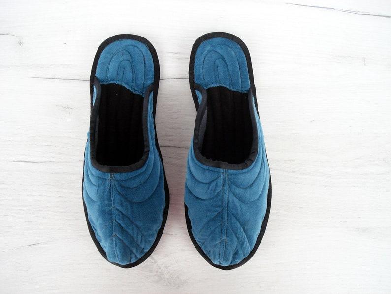 493f500f7c Wool Unisex House Slippers Velvet Home Slippers Slippers | Etsy