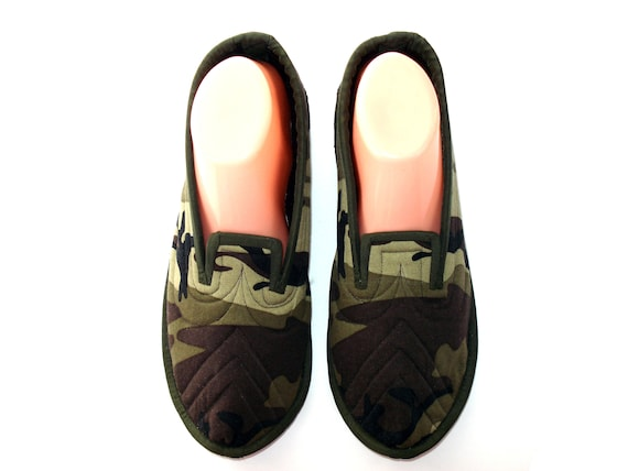 House Slippers Wool Slippers Man Warm