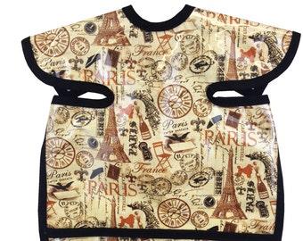 Vintage Paris Apron Bib
