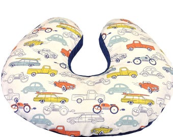 Retro Cars Boppy Cover