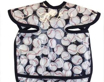 Baseball Apron Bib