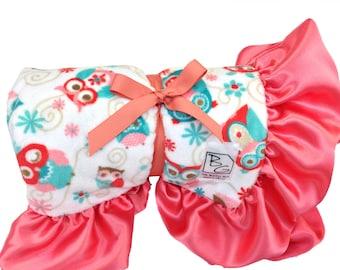 Hooty Deluxe Minky Blanket
