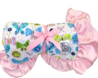 Butterflies Deluxe Minky Blanket