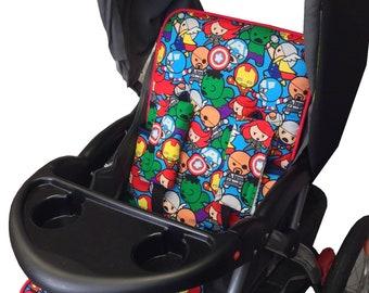 Baby Avengers Stroller Liner - Reversible Stroller Pad