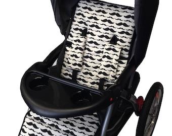 Mustache Stroller Liner